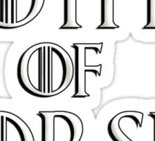 Khaleesi (Daenerys Targaryen) game of thrones parody - Mother of Horses Sticker