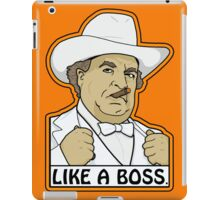 Like a Boss (Hogg, that is.) iPad Case/Skin