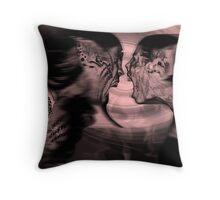 Domestic Dispute Throw Pillow