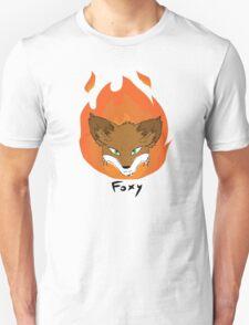 The Green-eyed Foxy Unisex T-Shirt