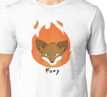 The Green-eyed Foxy Unisex T-Shirt