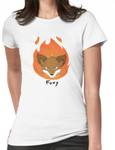 The Green-eyed Foxy Womens Fitted T-Shirt