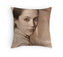 Wedding Glance Throw Pillow