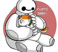 BH6: FLUFFY BABY. by aphlilwang