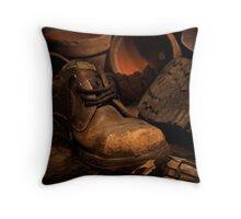 The Gardner's Shed Throw Pillow