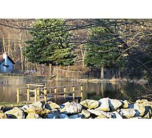 Pond refections Photographic Print