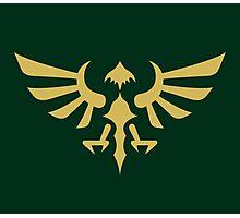 Hylian Crest (gold) Photographic Print