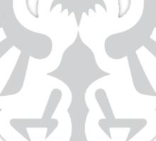 Hylian Crest (silver) Sticker