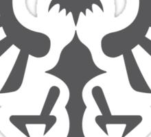 Hylian Crest (gray) Sticker