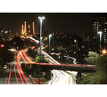 Brisbane Traffics Photographic Print