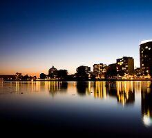 Oakland From Lake Merritt by Andrew Moore