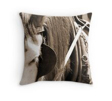 Patience.....a virtue! Throw Pillow