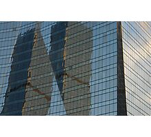 Building reflection1 Photographic Print