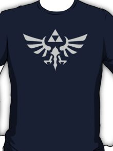 The Legend of Zelda Royal Crest (silver) T-Shirt