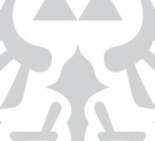 The Legend of Zelda Royal Crest (silver) Sticker