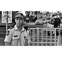 On Duty Photographic Print