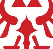 The Legend of Zelda Royal Crest (red) Sticker
