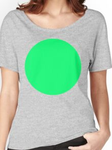 green circle Women's Relaxed Fit T-Shirt