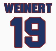 National baseball player Lefty Weinert jersey 19 by imsport