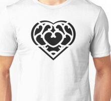 Zelda Skyward Sword Heart (black) Unisex T-Shirt