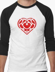 Zelda Skyward Sword Heart (red) Men's Baseball ¾ T-Shirt