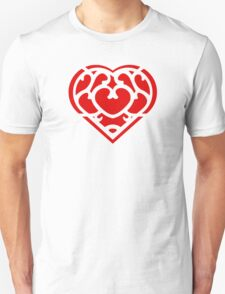 Zelda Skyward Sword Heart (red) T-Shirt