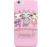 AC - Kitten Crew iPhone Case/Skin