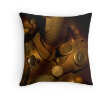 Army life Throw Pillow