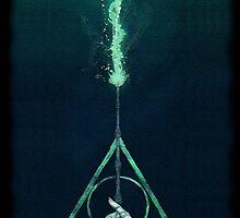 Expecto Patronum Harry Potter Deathly Hallows by neutrone