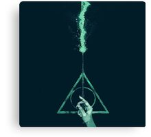 Expecto Patronum Harry Potter Deathly Hallows Canvas Print