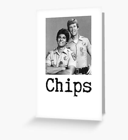 Chips.  Greeting Card
