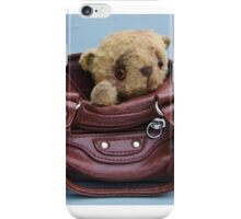 Goldie - Handmade bears from Teddy Bear Orphans iPhone Case/Skin