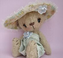 Willow - Handmade bears from Teddy Bear Orphans by Penny Bonser