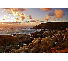 Point Lobos Sunset 3 Photographic Print