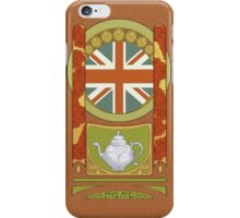 England Nouveau iPhone Case/Skin