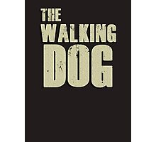 The walking dog Photographic Print