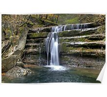 Acquacheta Waterfall - Italy Poster