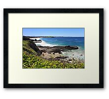 Kiama Downs Framed Print