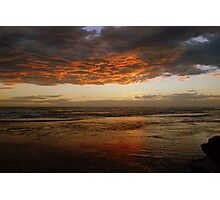 Storm reflections Photographic Print