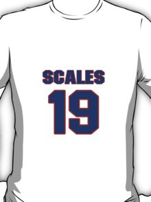 National baseball player Bobby Scales jersey 19 T-Shirt