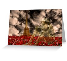 Fallen Hero Greeting Card