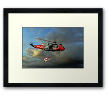 Royal Navy Search and Rescue (End of an Era) Framed Print