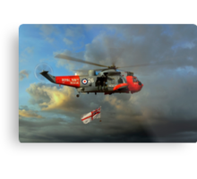 Royal Navy Search and Rescue (End of an Era) Metal Print