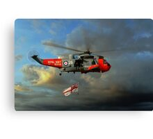 Royal Navy Search and Rescue (End of an Era) Canvas Print