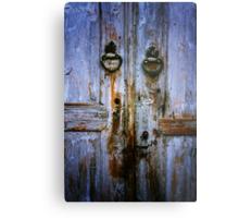 Beypazari Door Handle (White) Metal Print