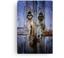 Beypazari Door Handle (White) Canvas Print