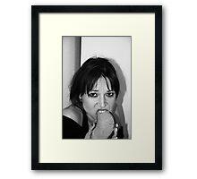 Hunger Strikes Framed Print