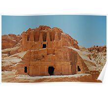 Tomb Of The Obelisks Petra Poster