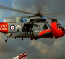 Royal Navy Search and Rescue (End of an Era) Sticker