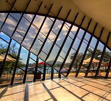 Looking out - Canberra by Hans Kawitzki